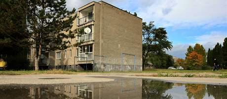 Dům v hodonínské čtvrti Bažantnice stojí na tekutých píscích