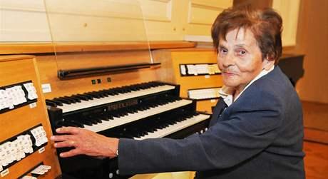 Alena Veselá vyučuje na brněnské JAMU hru na varhany