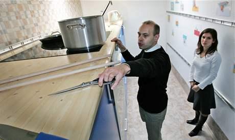Obří kuchyně varuje před dětskými úrazy