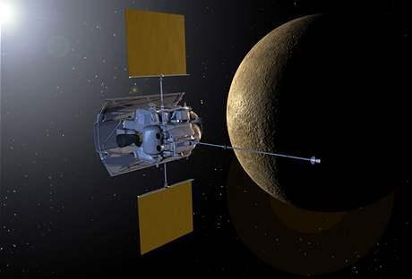 Sonda Messenger u planety Merkur
