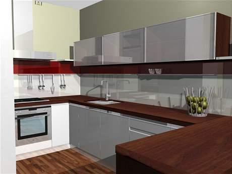Proměna obývací kuchyně