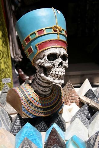Egypt. Lebka z tržiště