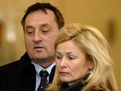 Petr Hudlík s manželkou