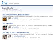 knol.google.com
