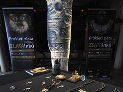 Z výstavy Prokleté zlato: 1000 let zlata Inků
