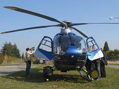 Policejní vrtulník EC 135 T2