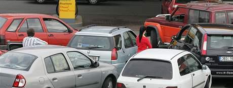 Benzin zadarmo - Brno