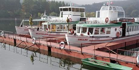 Ukončení plavební sezony 2008 na přehradě v Brně