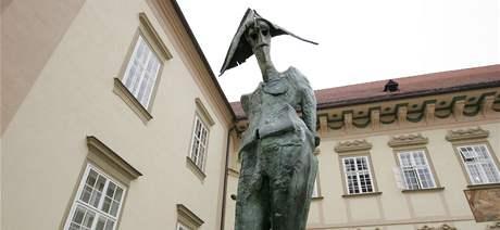 Gargulákovy sochy oživily brněnskou radnici