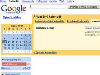 Google kalendář