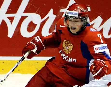 Alexej Čerepanov, který tragicky zemřel po utkání Omsku v ruské KHL