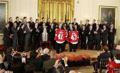 Detroit, Stanley Cup, audience u prezidenta Bushe