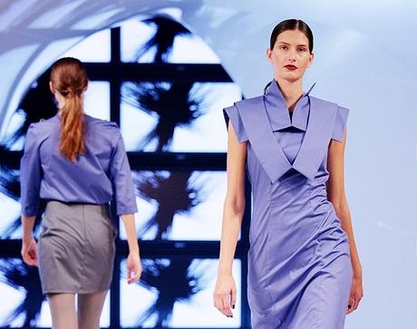 Zdeňka Imreczeová (kolekce Origami) - Shooting Fashion Stars 2008