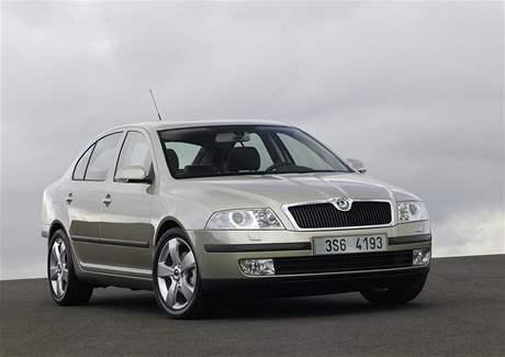 Předfaceliftová Škoda Octavia