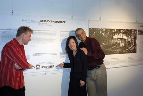 Výstava se objevila i v Tokiu