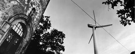 Poutní místo Hostýn - a větrná elektrárna