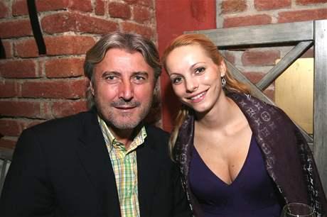 Bohumír Ďuričko s přítelkyní