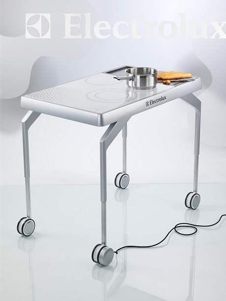 Pojízdný kuchyňský stůl Coox