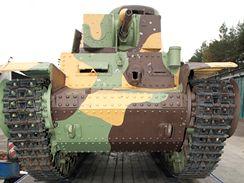 Do Česka se vrátil československý tank Škoda LT vz. 35 (17. 10. 2008)