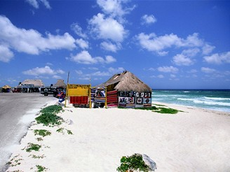Mexiko, ostrov Cozumel