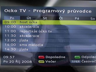 Set-top box Philips - EPG