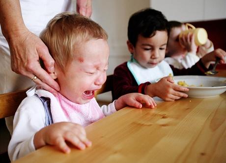 Oběd - Dětský domov pro děti do tří let v Karlových Varech