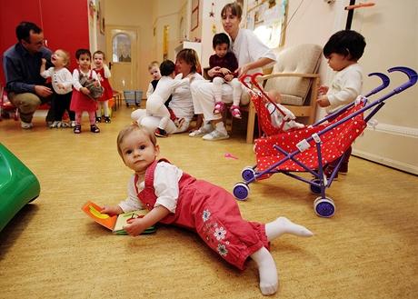 Zábava - Dětský domov pro děti do tří let v Karlových Varech