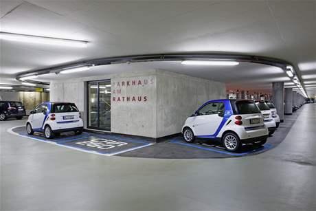 Pujčovna smartů Car2go