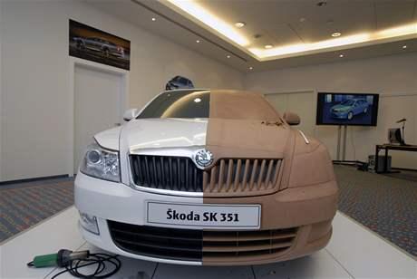 Jak se navrhuje auto: hliněný model Škody Octavia