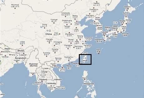 Čína - Tchaj-wan