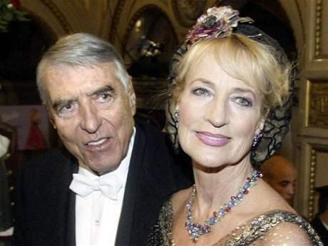 Helmut Zilk s manželkou