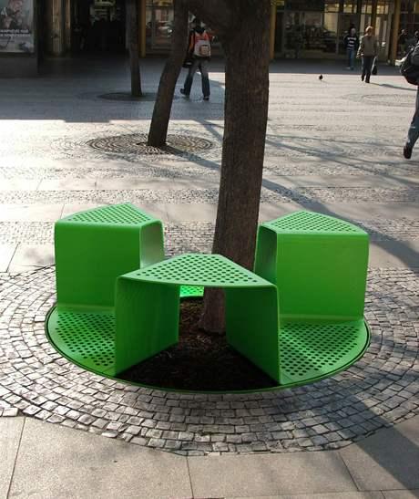 Národní cena za studetský design - městský mobiliář od Romana Vrtišky