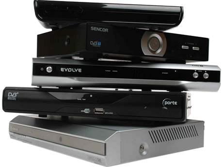 P�t set-top box� pro DVB-T