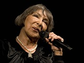 Hana Hegerová na koncertě ke svým 77. narozeninám