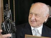 Arnošt Lustig s Cenou Franze Kafky