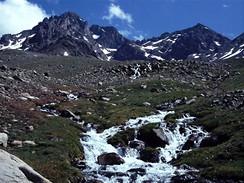 Turecko, pohoří Kaçkar Daglari