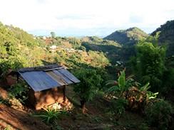 Thajsko, z treku džunglí za horskými kmeny
