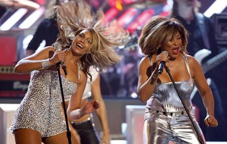 Grammy - Beyoncé a Tina Turner