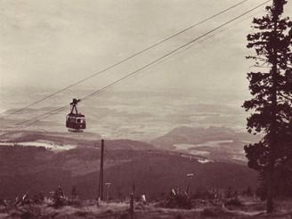 Lanovka na Černou horu, 1928