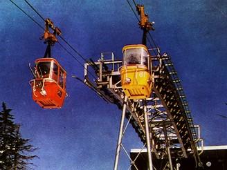 Lanovka na Černou horu, 80. léta