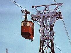 Lanovka na Černou horu, druhá generace kabin z 50. let