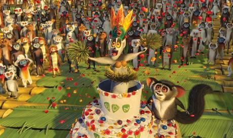 Z filmu Madagaskar 2