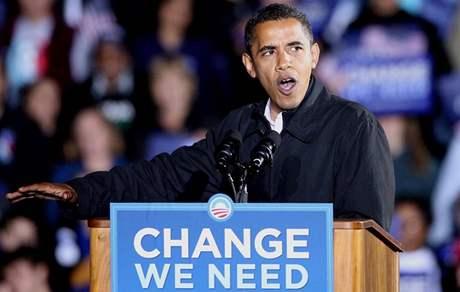 Barrack Obama završil převolební kampaň ve městě Manassas ve Virginii