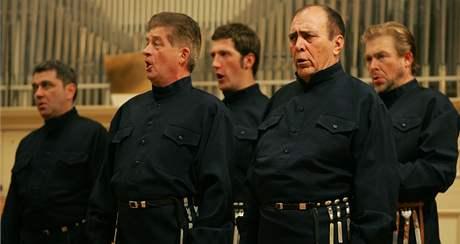Donští kozáci zazpívali před vyprodaným sálem