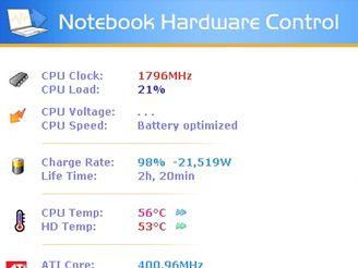 Notebook Hardware Control