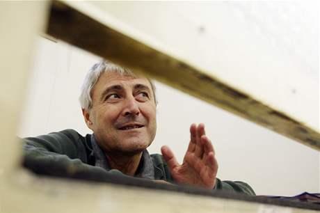 Bohumír Ďuričko v pankrácké věznici. (4. listopadu 2008)