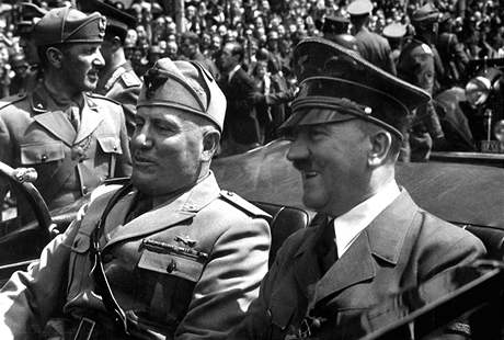 Hitler a Mussolini; 1940