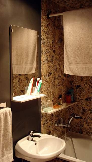 Originální umakartová koupelna