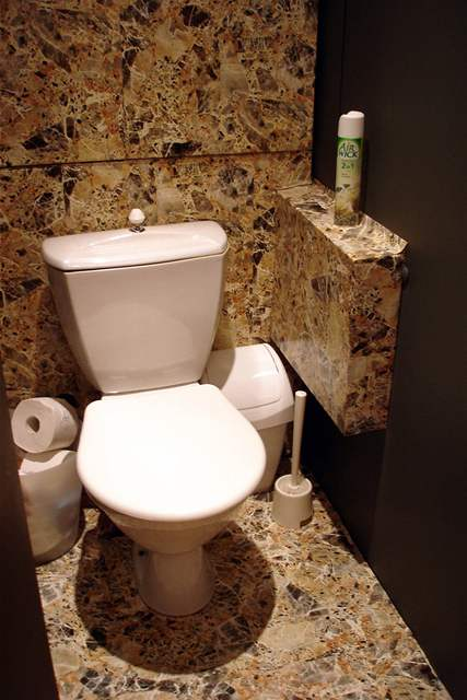 Luxusní umakartová koupelna