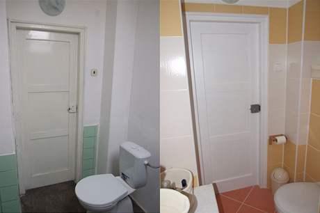 Koupelna: maličká, útulná a funkční